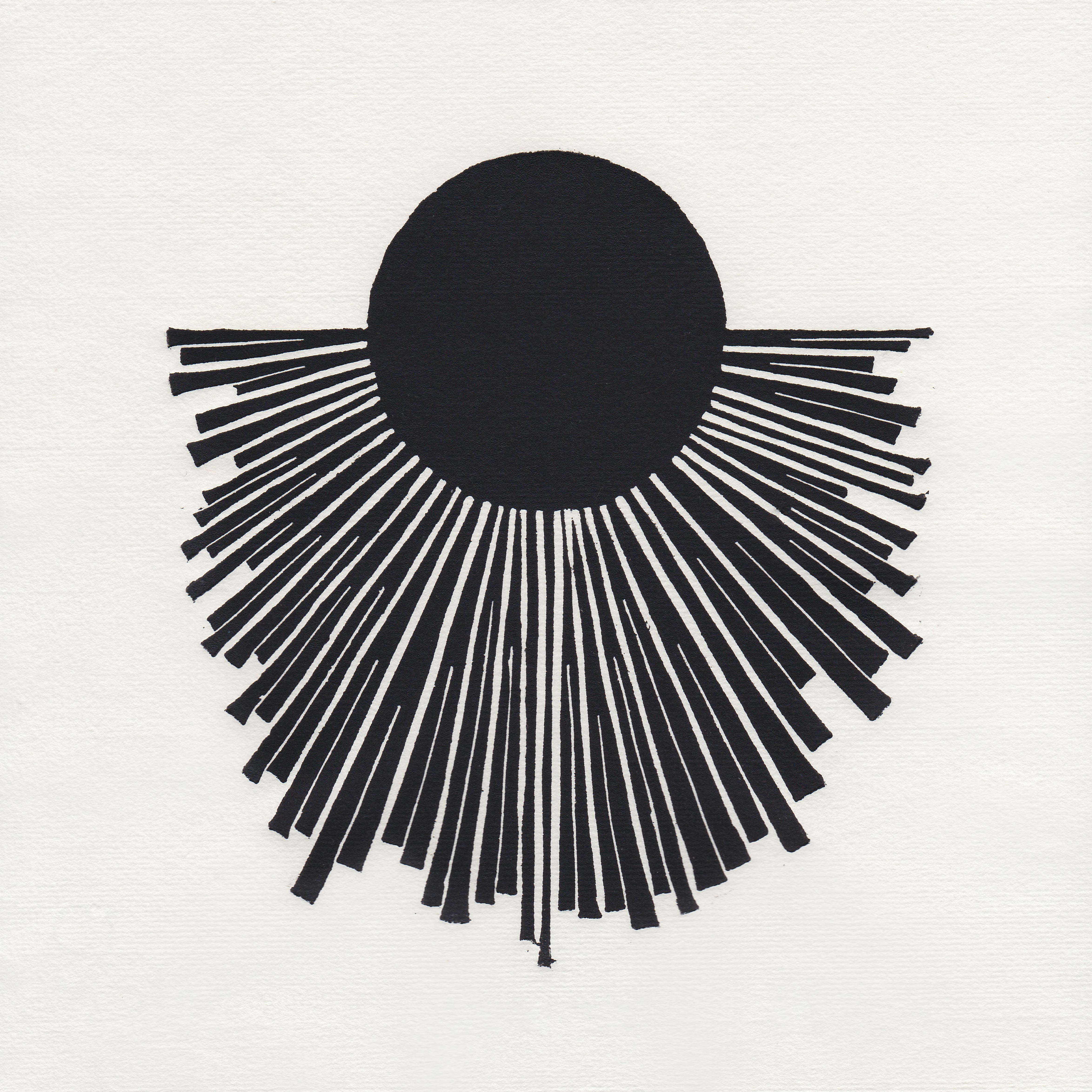 CN_Linocut_Sacred Sun